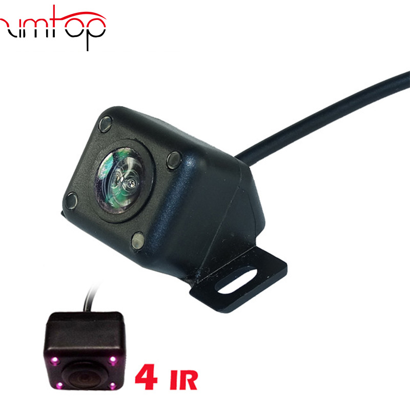 HD car reverse camera 4 IR night vision waterproof for car parking video monitor back up /front rear view back system